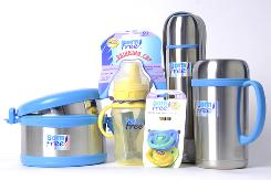 Products made without harmful BPA are available from a company called Born Free.