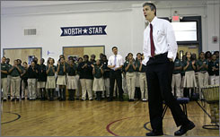 U.S. Education Secretary Arne Duncan said spending up to $350 million to support state efforts to craft assessments would be Washington's largest-ever investment in encouraging a set of common standards.
