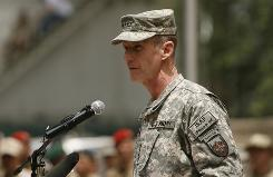 U.S. Gen. Stanley McChrystal takes charge of the largest international force ever in Afghanistan. A record 56,000 U.S. troops are in the country, alongside 32,000 forces from 41 other countries.