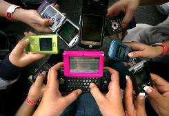 In the survey, 26% of teens admitted that they use their phones to store information to look at during a test, and 25% text-message friends about test answers.
