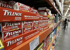 Acetaminophen is the acting ingredient in Tylenol and a number of other over-the-counter pain relievers.