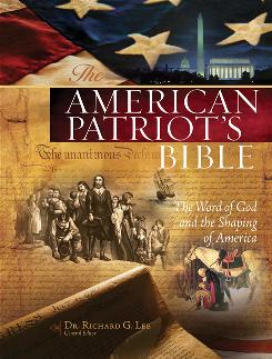 "The cover image for The American Patriot's Bible. While some have praised the version of the Bible -- Newt Gingrich called it ""fascinating"" -- others have condemned it as something akin to theological and political heresy."