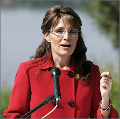Alaska Gov. Sarah Palin, the former Republican vice presidential nominee, announced Friday from her hometown of Wasilla that she will step down effective July 26.
