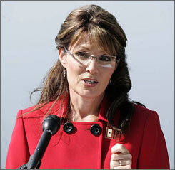 Sarah Palin announces Friday that she is stepping down from her position as Alaska governor. A new poll finds the move did not diminish her support among Republicans.