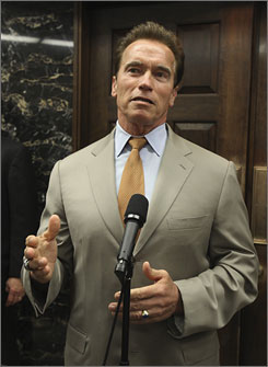 Gov. Arnold Schwarzenegger is ruling out tax increases, so lawmakers in both parties have been coming to terms with significant cuts in state government, including spending for schools and universities.