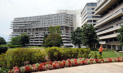 The Watergate Hotel has been empty since 2007 and went on the auction block on Tuesday.