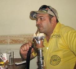 Hussam Abdullah, in his Baghdad tea shop, told his gay customers to go elsewhere because of threats from militant groups.