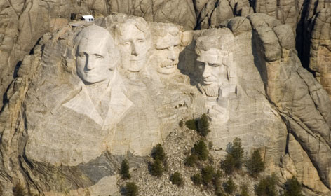 When completed, the 3-D image of Mount Rushmore could be placed in one of the visitor center theaters to help educate children about the monument.