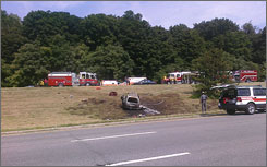 The fiery July 26 wreck on the Taconic State Parkway left eight people dead.