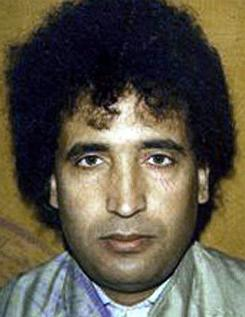 Abdel Basset Ali al-Megrahi, a Libyan intelligence officer, was convicted in a Scottish court in January 2001 of murder in the 1988 bombing of Pan Am Flight 103 over Lockerbie, Scotland, and sentenced to life in prison. 