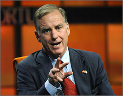 "Former Democratic Party Chairman Howard Dean said he doesn't foresee any Republican support for a public option. ""I don't think the Republicans are interested and in order to have a bipartisan bill, you've got to have both sides interested,"" he said."