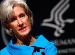 Secretary of Health and Human Services Kathleen Sebelius says the administration does not consider a public option the central aim of its planned health care overhaul.