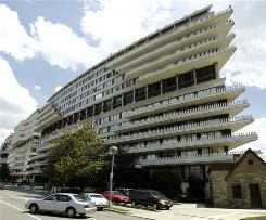 The Watergate complex in Washington, D.C., is where burglars used eavesdropping bugs to listen in on the Democratic National Committee three decades ago and where Monica Lewinsky lived last decade. College freshmen today may be more likely to associate it with the Clinton scandal than the Nixon resignation.