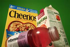 "Cheerios, ""antioxidant advantage"" Tropicana and Vitaminwater. Such ""functional foods"" account for more than $27 billion in sales a year."