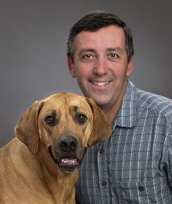 Veterinarian Scott Line,  with his dog Gromit, is associate editor of the Merck/Merial  Manual for Pet Health. In the latest installment in a series of weekly columns of advice by pet experts, Line says there's good news about heartworms: Though cases are rising, the disease is simple and inexpensive to prevent.