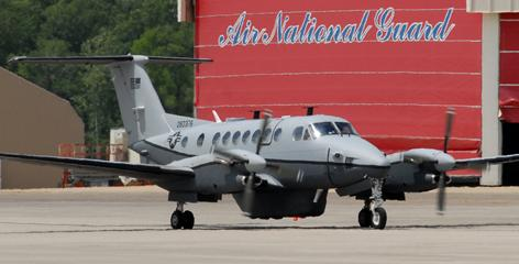 A greater share of U.S. reconnaissance aircraft, including Project Liberty planes like the one shown here, have been sent to Afghanistan.