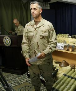 Rear Adm. Gregory Smith, the top military spokesman in Afghanistan, said he decided to end a contract with a public relations firm because it was becoming a distraction.