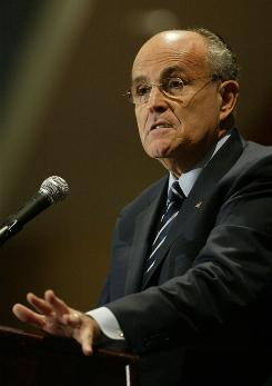 "Former New York City Mayor Rudy Giuliani said of the program, ""It gives young people a framework in which to think about Sept. 11."""