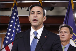 Stimulus critics such as Rep. Darrell Issa of California, the top Republican on the House oversight committee, say the package has enlarged the federal bureaucracy without making a dent in the nation's unemployment rate.