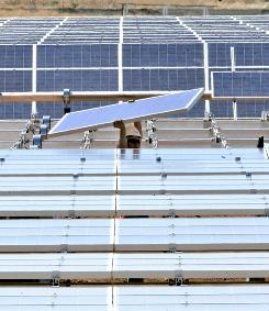 The Sacramento Municipal Energy District is funding the construction of a solar energy field.
