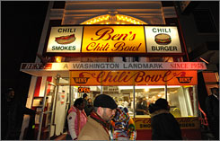 Ben Ali, the founder of Ben's Chili Bowl in Washington, has died. He was 82.