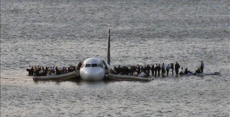 In a new book, the passengers on US Airways Flight 1549 tell of a perilous wait on the jet's wings for rescuers after the Hudson River landing on Jan. 15.