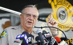 Maricopa County (Ariz.) Sheriff Joe Arpaio's department is under investigation for alleged racial profiling.