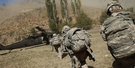 Army soldiers in the 1/501st of the 25th Infantry Division recently scoured the Afghan countryside on a two-day mission in Paktika province, an area near the Pakistani border that U.S. soldiers had not patrolled for more than three years. The troops were looking for Taliban weapons and hide-outs.