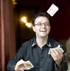 "Magicians such as Eric Mead, who is what is known in the trade as a ""mind reader,"" are helping neuroscientists understand what happens when the brain is tricked."