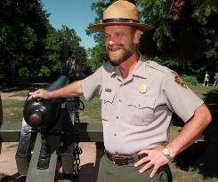 John Latschar, park superintendent at Gettysburg National Military Park, is being reassigned because of improper use of government computers, he said.