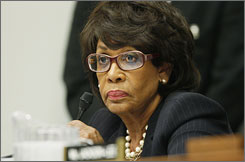 "Rep. Maxine Waters, D-Calif., the chairman of a housing subcommittee, said she expects HUD ""will take immediate steps to improve oversight"" of agencies receiving stimulus funds."