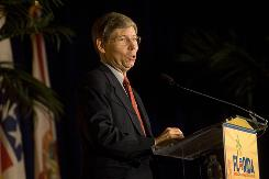 "Attorney General Bill McCollum says, ""Florida's problem was particularly dire, compromising the safety of residents."""