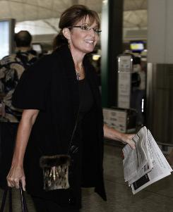 Palin remembers being a voracious reader;  her favorites include John Steinbeck's The Pearl and George Orwell's Animal Farm.