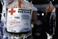 The American Red Cross has seen a  slight drop in blood donations since July, but the nation's supply seems to be otherwise unaffected by the  H1N1 pandemic.