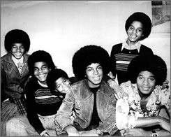 "Motown founder Berry Gordy called the late Michael Jackson, pictured with the Jackson 5, ""the greatest entertainer that ever lived."""