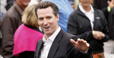 San Francisco Mayor Gavin Newsom dropped out of the governor's race late last month.