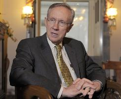 "Senate Majority Leader Harry Reid vowed to keep the Senate in session every weekend in December to finish the bill, saying ""we have some things to work through."""