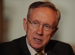 Senate Majority Leader Harry Reid is trying to deliver on the president's top domestic priority.