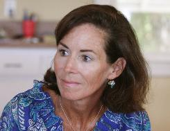 Jenny Sanford, spoke about her husband's affair admission at the family beach house in Sullivans Island, S.C., on June 26, 2009.