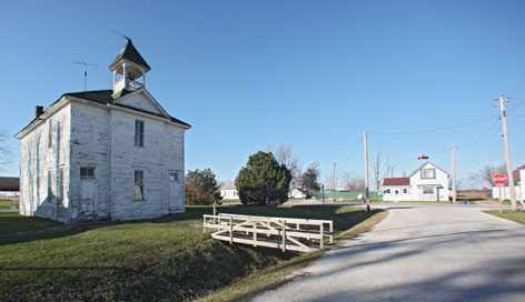 An two-room schoolhouse that dates back to the 1890s is about to be demolished in Hayesville, Iowa.