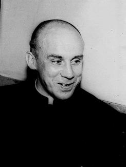 Thomas Merton, a Trappist monk known world-wide as an author and philosopher, is shown in 1951.