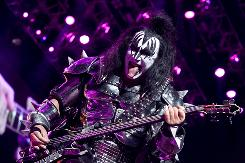 Gene Simmons and the rest of his Kiss bandmates wrapped up their U.S. tour earlier this month.