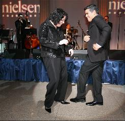 Justice Sonia Sotomayor and actor Esai Morales did some salsa dancing in September at the annual Noche Musical organized by theNational Hispanic Foundation For The Arts at the Corcoran Gallery of Art in Washington.