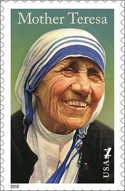 The post office releases a series of commemorative stamps every year, honoring people, places and institutions.