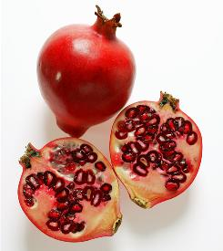 Pomegranates may hold promise for those with breast cancer, but more research must be done because the active chemical may not be easily absorbed from food.