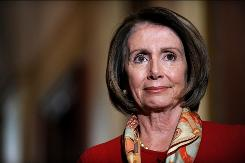 "Speaker of the House Nancy Pelosi said ethics rules would help ""drain the swamp"" in Congress."
