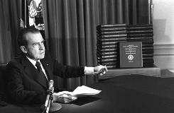 The Nixon Library released some 280,000 pages of records on Monday from Richard Nixon's years in office.