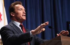 Gov. Arnold Schwarzenegger is the Tweetenator of U.S. governors using the social-networking site Twitter as part of their communications arsenal.