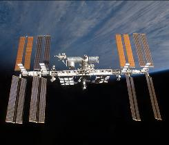 Gravitating toward the International Space Station: If it continues to get the government's support, which space experts say is likely, that will limit the money needed to send humans to the moon or Mars.