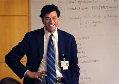 Atul Gawande, author of The Checklist Manifesto: How to Get Things Right, is a surgeon at Brigham and Women's Hospital in Boston, a staff writer at The New Yorker, and an associate professor at Harvard Medical School and the Harvard School of Public Health.